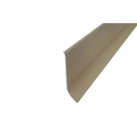ALU 60 mm kőhatású porszórt alumínium padlószegély